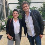 Nos deux nouveaux élus en Belgique, Bertrand Wert et Léa Charlet