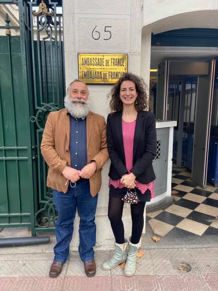 Catherine Blanche et Daniel Colas, Chili